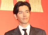『キングダム』の実写映画製作報告会見に出席した要潤 (C)ORICON NewS inc.
