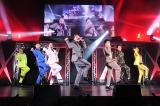 ライブ『LIVE DA PUMP 2018 THANX!!!!!!!』を行ったDA PUMP(左から)KIMI、YORI、DAICHI、ISSA、KENZO、U-YEAH、TOMO