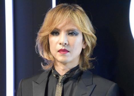 『YSL BEAUTY HOTEL』記者会見に登場したYOSHIKI (C)ORICON NewS inc.