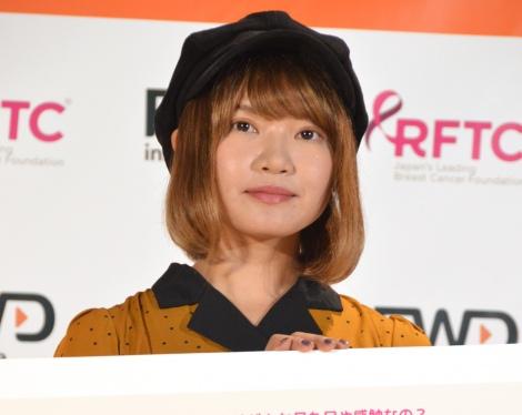 乳がん治療の経過良好を報告した矢方美紀 (C)ORICON NewS inc.