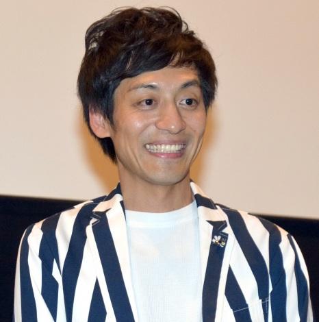 映画『耳を腐らせるほどの愛』(2019年公開)の舞台あいさつに登壇したとろサーモンの村田秀亮 (C)ORICON NewS inc.