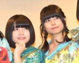 声優初挑戦となった新メンバー(左から)根本凪、鹿目凛 (C)ORICON NewS inc.