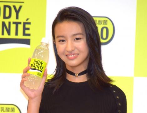 初めてのCM発表会に出席したkoki, =新ブランド飲料『ボディメンテ ドリンク』のCM発表(C)ORICON NewS inc.