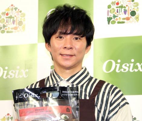 妻・佐々木希の様子を語った渡部建= 『パパでも作れるKit Oisix』新商品発表会 (C)ORICON NewS inc.
