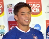 『イソジンのど飴 新CM発表会』 に出席した吉尾海夏選手 (C)ORICON NewS inc.