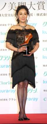 「オーバーフォーティー部門」に選出された浅野ゆう子 (C)ORICON NewS inc.