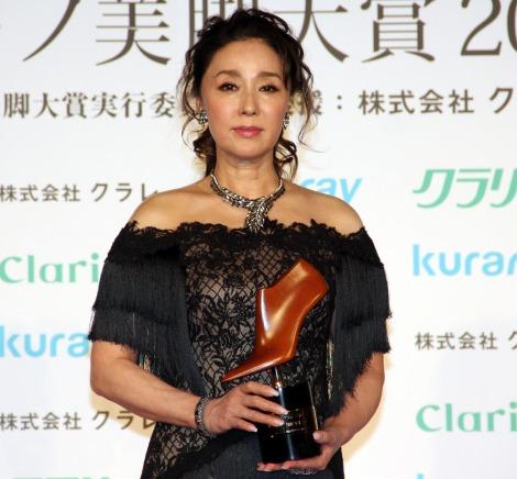 浅野ゆう子=『第16回 クラリーノ美脚大賞2018』 (C)ORICON NewS inc.