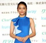 岡田結実=『第16回 クラリーノ美脚大賞2018』 (C)ORICON NewS inc.