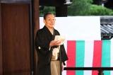 『京都国際映画祭2018』のオープニングセレモニーに登場した笑福亭仁鶴(C)京都国際映画祭