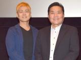 (左から)宅間孝行、トミーズ雅 (C)ORICON NewS inc.