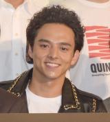 映画『ムタフカズ』初日舞台あいさつに出席した満島真之介 (C)ORICON NewS inc.
