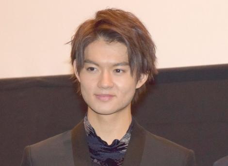 やんちゃだった高校時代のエピソードを語った佐野勇斗 =映画『凜』の舞台あいさつ (C)ORICON NewS inc.