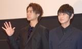 映画『凜』の舞台あいさつに出席した(左から)佐野勇斗、本郷奏多 (C)ORICON NewS inc.