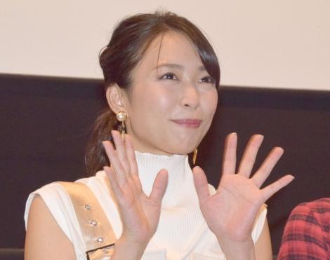 『美人が婚活してみたら』舞台あいさつ に出席した黒川芽以 (C)ORICON NewS inc.