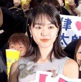 映画『覚悟はいいかそこの女子。』初日舞台あいさつに出席した唐田えりか (C)ORICON NewS inc.