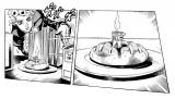 原作『ジョジョ』5部の「ポスポテスト」(C)荒木飛呂彦&LUCKY LAND COMMUNICATIONS/集英社