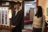 有楽亭八雲(岡田将生)と小夏(成海璃子) (C)NHK