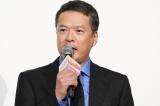 映画『音量を上げろタコ!なに歌ってんのか全然わかんねぇんだよ!!』公開記念舞台あいさつに登壇した田中哲司