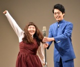 『マイナビ Laughter Night』第4回チャンピオンライブに出場したゆにばーす (C)ORICON NewS inc.
