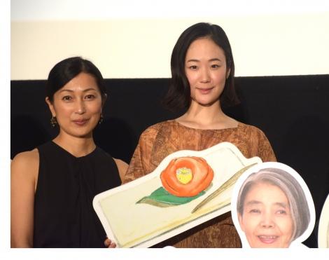 映画『日日是好日』初日舞台あいさつに登壇した鶴田真由、黒木華 (C)ORICON NewS inc.