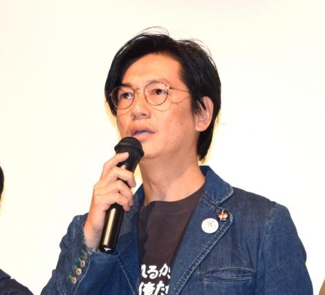 映画『止められるか。俺たちを』の初日舞台あいさつに出席した井浦新 (C)ORICON NewS inc.