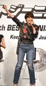"""3年連続でベストジーニスト賞を受賞し""""殿堂入り""""した荻野目洋子=第35回『ベストジーニスト2018』 (C)ORICON NewS inc."""