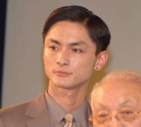 『多十郎殉愛記』ワールドプレミア上映の舞台あいさつに登壇した高良健吾 (C)ORICON NewS inc.