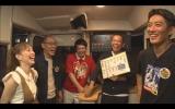 (左から)はいだしょうこ、山西惇、タカアンドトシ、反町隆史の5人で「秘境ローカル線に乗って飲食店を見つける旅」に挑戦(C)テレビ朝日