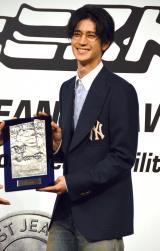 2年連続でベストジーニスト賞を受賞し、殿堂入りに王手をかけた中島裕翔(C)ORICON NewS inc.