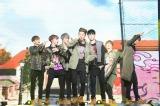 全20曲を熱唱(左から)ユニョン、ジナン、ドンヒョク、B.I、ジュネ、BOBBY、チャヌ