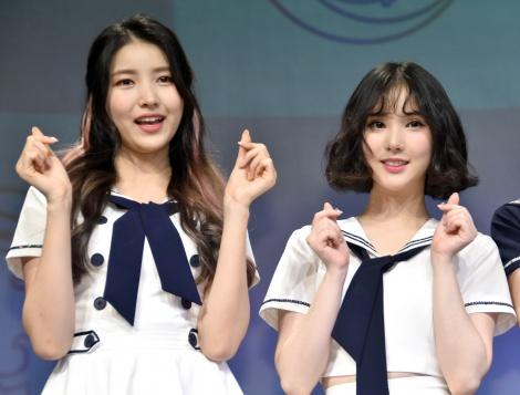 (左から)ソウォン、ウナ (C)ORICON NewS inc.