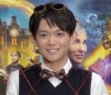 映画『ルイスと不思議の時計』大ヒット記念イベントに出席した松丸亮吾氏 (C)ORICON NewS inc.