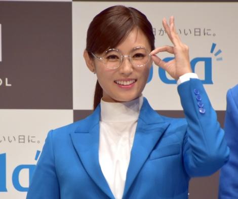 転職支援サービス『doda』新CM発表会に出席した深田恭子 (C)ORICON NewS inc.
