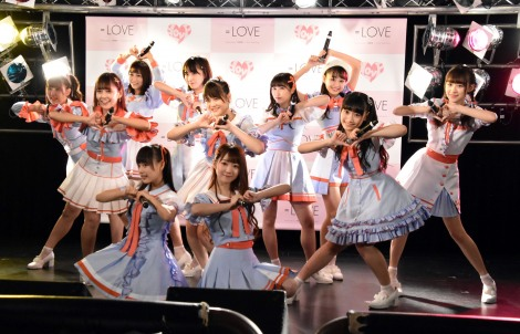 「Want you! Want you!」リリース記念イベントを行った=LOVE (C)ORICON NewS inc.