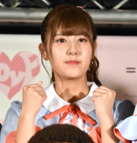「Want you! Want you!」リリース記念イベントを行った=LOVE・佐竹のん乃 (C)ORICON NewS inc.