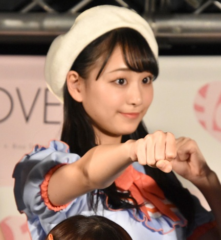 「Want you! Want you!」リリース記念イベントを行った=LOVE・瀧脇笙古 (C)ORICON NewS inc.