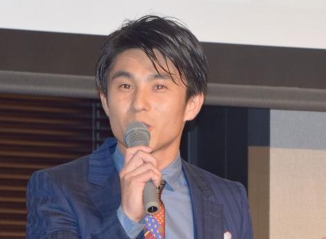 『イクメン オブ ザ イヤー 2018』の授賞式に出席した中尾明慶 (C)ORICON NewS inc.