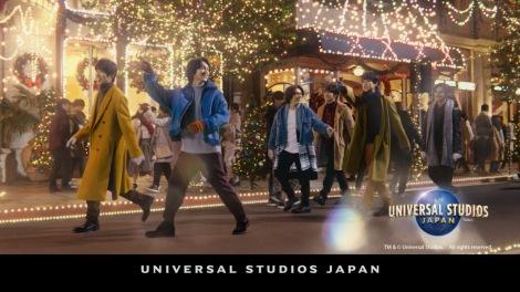 関ジャニ∞全員が出演する「ユニバーサル・ワンダー・クリスマス」のCM