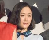 映画『億男』の初日舞台あいさつに出席した黒木華 (C)ORICON NewS inc.