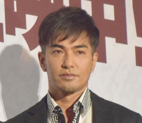 映画『億男』の初日舞台あいさつに出席した北村一輝 (C)ORICON NewS inc.