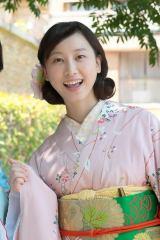 連続テレビ小説『まんぷく』ヒロイン・福ちゃんの親友・敏ちゃん(鹿野敏子)役の松井玲奈(C)NHK