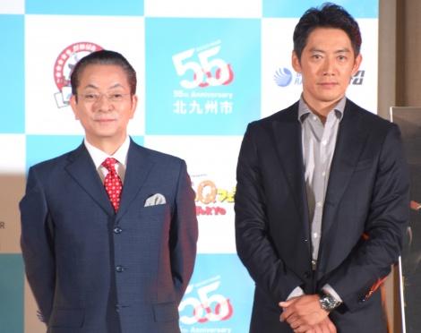 『相棒season17』特別PRイベントに登場した(左から)水谷豊、反町隆史 (C)ORICON NewS inc.
