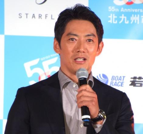 『相棒season17』特別PRイベントに登場した反町隆史 (C)ORICON NewS inc.