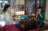 連続テレビ小説『まんぷく』第3週・第18回より。香田克子(松下奈緒)、今井福子(安藤サクラ)。 香田家・居間にて。立花萬平(長谷川博己)との結婚を応援してくれている克子に、子どもが生まれたら子育てを手伝ってほしい、と頼むが「それは無理」と断られる福子(C)NHK