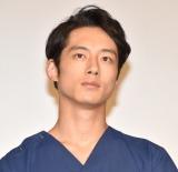 TBS系ドラマ『コウノドリ』舞台あいさつに登壇した坂口健太郎 (C)ORICON NewS inc.
