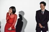 映画『万引き家族』公開記念舞台あいさつの模様
