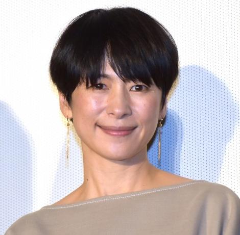 映画『生きてるだけで、愛。』完成披露舞台あいさつに出席した西田尚美 (C)ORICON NewS inc.