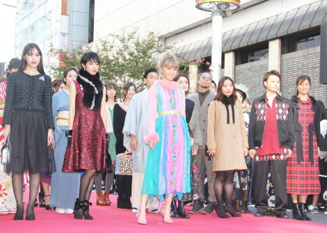 『SHIBUYA RUNWAY』に登場したDream Ami (C)ORICON NewS inc.