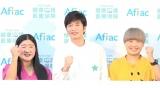 健康測定を行った(左から)ガンバレルーヤ・よしこ、田中圭、ガンバレルーヤ・まひる (C)ORICON NewS inc.