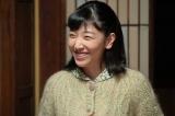 連続テレビ小説『まんぷく』第4週より。萬平(長谷川博己)から「福子がいろいろ工夫してくれるから、毎日食事が楽しみだ」と言われ、「人にとって何より大事なのは食べること、でしょ」とほほえむ福子(安藤サクラ)(C)NHK